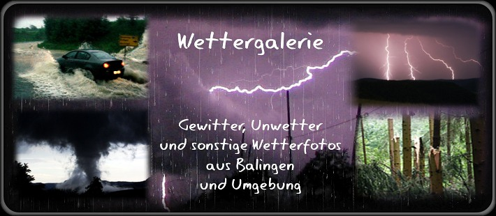 Wettergalerie Wetterfotos